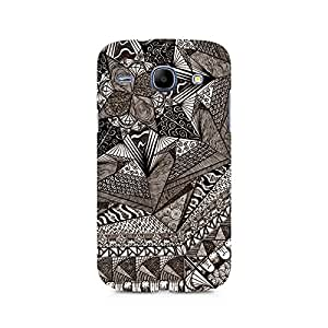 Mobicture Geometric Abstract Doodle Premium Printed Case For Samsung Core I8262
