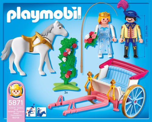 Playmobil Princess With Horse Carriage New Ebay