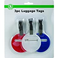 dib Global Sourcing BS113 Luggage Tag - Smart Savers Pack of 12