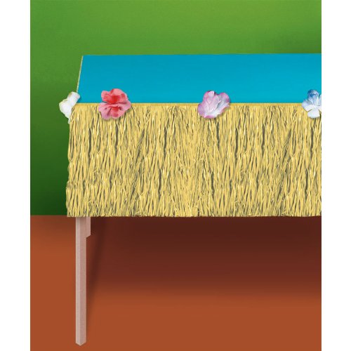 Amscan - Natural Grass Mini Table Skirt - Standard