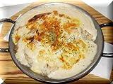 サーモンドリアが作れちゃう☆サーモンとほうれん草のクリーム煮とバターライスとチーズのセット