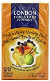 London Fruit And Herb Fruit Spice Variety Pack 20 Teabags (Pack of 12, Total 240 Teabags)