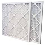 16x25x1 MERV 13 Pleated Air Filter (6-Pack)