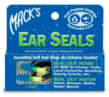 Mack'S Ear Seals With Removable Cord (Pair)