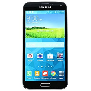 Samsung Galaxy S5 G900v 16GB Unlocked Android Smartphone - Black (Certified Refurbished)