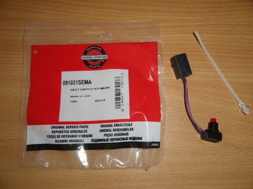 GENUINE BRIGGS & STRATTON SEAT SWITCH KIT FOR MURRAY RIDE ON MOWERS 091031
