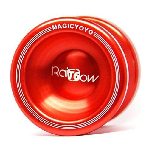 T6 Alloy Aluminum Professional Yo-yo Yoyo Toy (Red) - 1