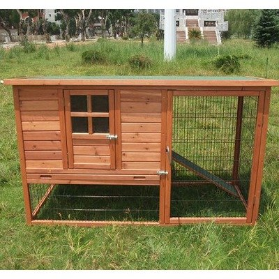 Pawhut Chicken Coop Hutch