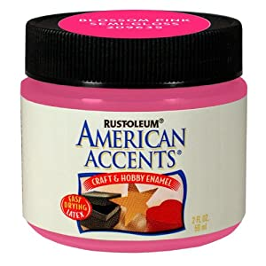 American Home Remodeling on Paint Jar Semi Gloss Blossom Pink 2 Ounce