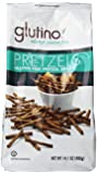 Glutino Gluten Free Pretzel Sticks, 14.1-Ounce Bags (Pack of 12)