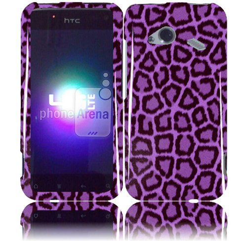 Click to buy Purple Leopard Design Hard Case Cover HTC Droid Incredible 4G LTE 6410 Fireball - From only $16.99