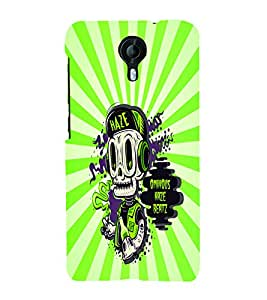PrintVisa Cool Boy 3D Hard Polycarbonate Designer Back Case Cover for Micromax Canvas Nitro 4G E371