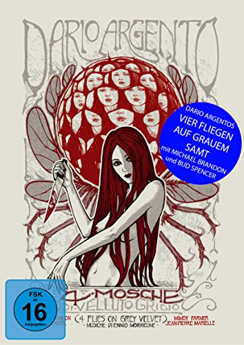 Vier Fliegen auf grauem Samt [Blu-ray] [Limited Collector's Edition]