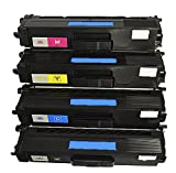 Tonercenter24 - Compatible Laser Toner Cartridge Replacement for Brother TN-328, TN 328, TN328, DCP9270CD, HL4570CD, HL4570CDW (1BK,1C,1M,1Y ,4-PACK)