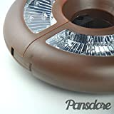 Pansdore 26 Count LED Umbrella Light. 3AA Batteries Operated Parasol Light. Patio Umbrella Accessories. Perfect for Outdoor Use, Patio Umbrellas, and Camping Tents (Brown)