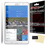 [Pack of 2] TECHGEAR® Samsung Galaxy Tab Pro 8.4 Inch SM-T320, with 3G SM-T321, with LTE SM-T325 CLEAR LCD Screen Protectors With Screen Cleaning Cloth & Application Card