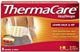 Thermacare Lower Back & Hip Heatwraps, S/M, 8 Hour-2Ct (Pack Of 4)