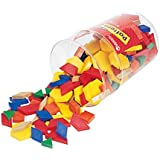 Learning Resources Plastic Pattern Blocks 1cm (Set of 250)