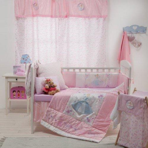 [Disney Princess] 4 Pc Crib Bedding Set front-921578