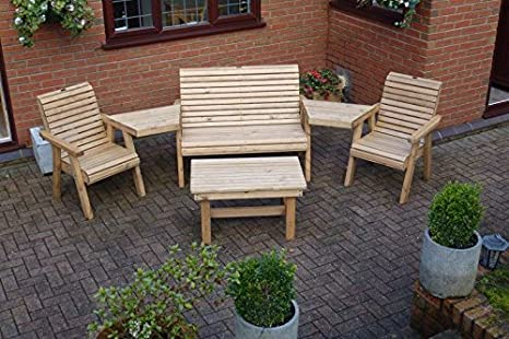 Garden Furniture / Patio Set Multi-Set Bench, 2 Chair, Coffee Table