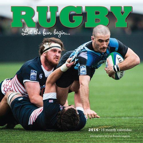 Rugby 2016 - 16-Monatskalender: Original BrownTrout/Wyman Publishing-Kalender