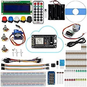 Universal Starter Kits for Arduino Tutorials (UNO R3 Board Included),Graphical Programming Tutorials, NodeMCU IoT Tutorials ( ESP8266 Wifi Modules Not Included )