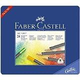 Faber-Castell Art GRIP Color Pencils, Tin of 24