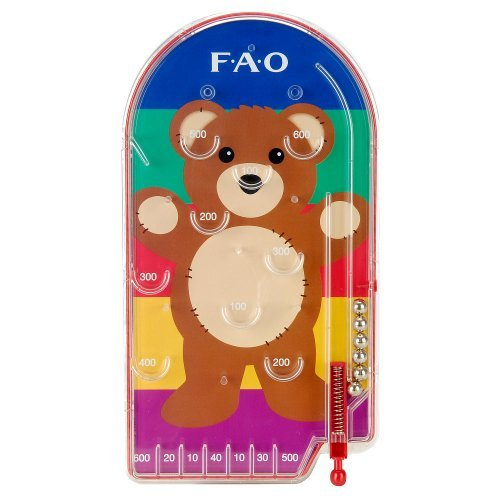FAO Schwarz Pin Ball - Teddy Bear