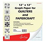 Sew Easy Quilters Graph Paper 12 x 12 inch
