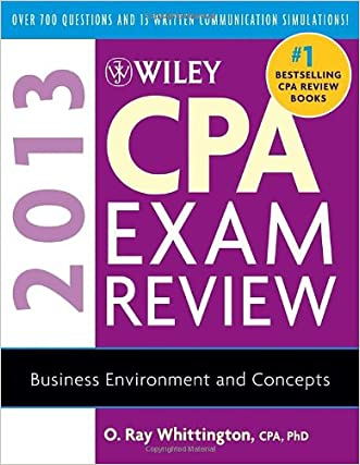 Wiley CPA Exam Review 2013, Business Environment and Concepts