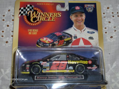 Kenny Irwin #28 Texaco Havoline 1:43 scale 1998 Winners Circle Diecast Car - 1