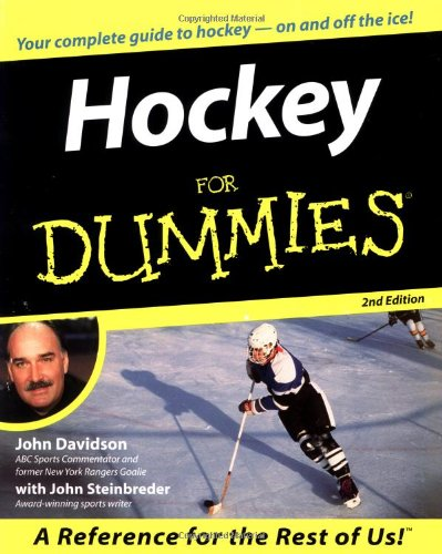 Hockey For Dummies front-703761