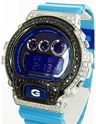 Casio G Shock 7.00ct Lab Made Diamond Watch DW6900CB-2