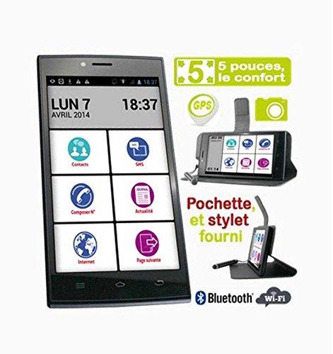 Smartphone facile pour senior, Smart D3