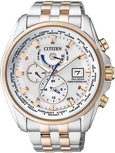 Citizen Sport AT9034-54A Reloj radiocontrolado para hombres Eco-Drive Multibanda 4