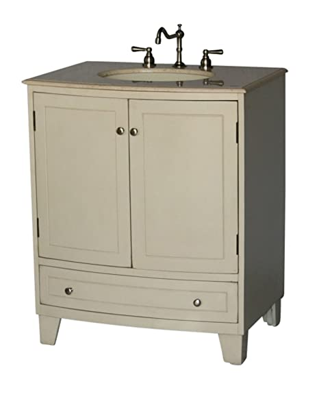30-Inch Contemporary Style Single Sink Bathroom Vanity Model SE001-261 BE