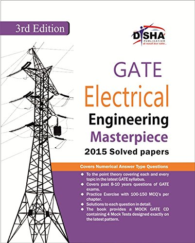 GATE Electrical Engineering Masterpiece 2016 with 4 Mock Test CD (Old Edition)