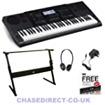 Casio Digital Keyboard CTK-6200 SET -...