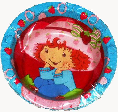 Strawberry Shortcake Paper Bowls (8 counts) - 1