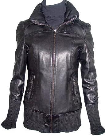 Paccilo 4 Season Wearable Womens 4021 PETITE Size ULTRA SOFT PREMIUM Grade Real Lambskin Short Leather Jacket