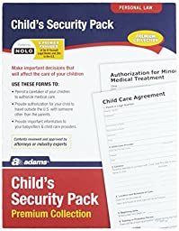 Adams Child\'s Security Pack Premium Forms Collection (LF142P)