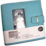 All My Memories Urban Chic 6x6 Memory Album - Blue ~ All My Memories