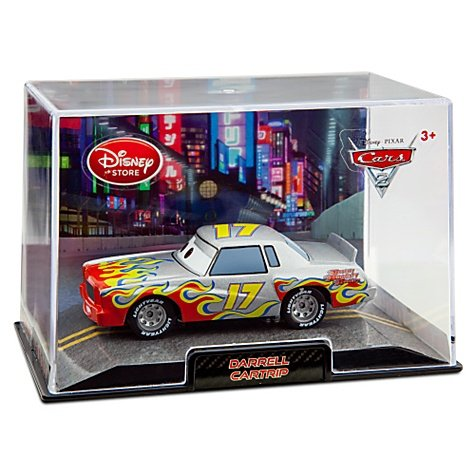 Disney's Cars 2 'Darrell Cartrip' Die Cast Car