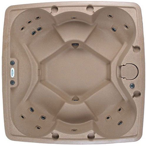 X-600 Sandstone Portable Spa With Green Package