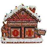 4.75 Inch Gingerbread House Collectible Xmas Advent Calendar Figurine