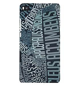PRINTSHOPPII ART Back Case Cover for Huawei P8