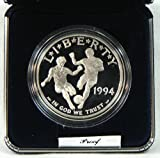 1994 Proof World Cup Soccer Commemorative Silver Dollar
