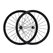 Baixiang 700c 38mm Carbon Clincher Road Bike Wheels Bicycle Wheelset for Shimano