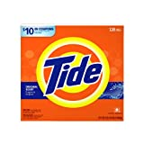 Tide Powder Detergent, Original Scent, Case Pack, Two 120-Load Boxes (240-Loads)