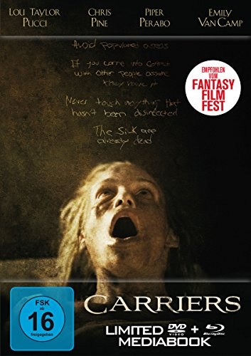 Carriers - Limited Mediabook (+ DVD) [Blu-ray]